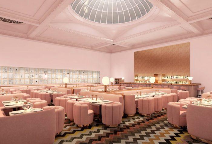 Millennial Pink: Pink Interiors