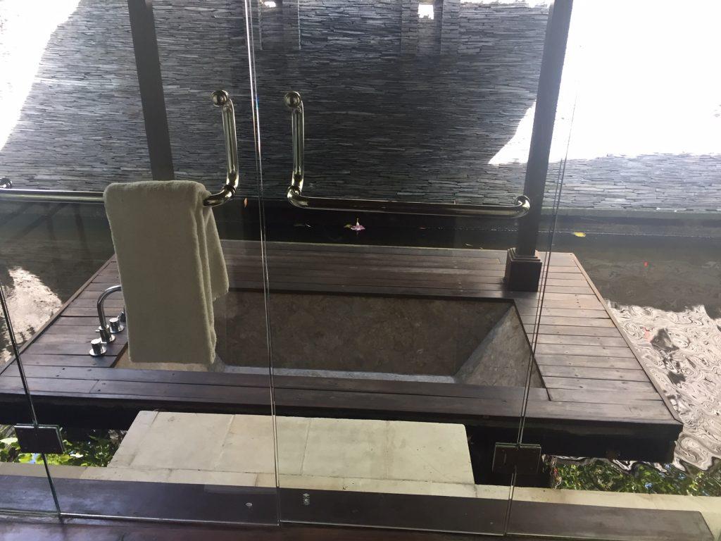 Indonesian Design Inspiration - Villa Mary Canggu Bali sunken bath