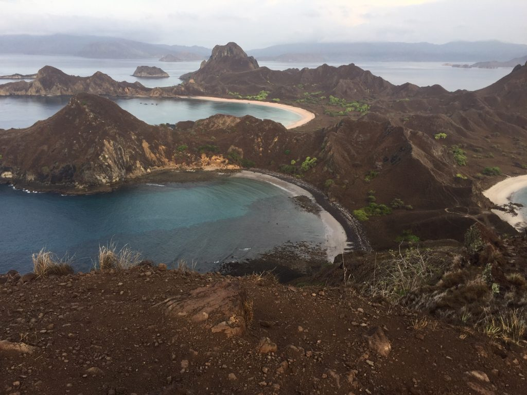 Views after Hiking Kelor Island Indonesia