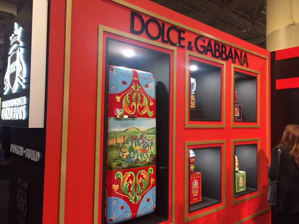 IDS Toronto 2019 - Smeg Dolce & Gabbana