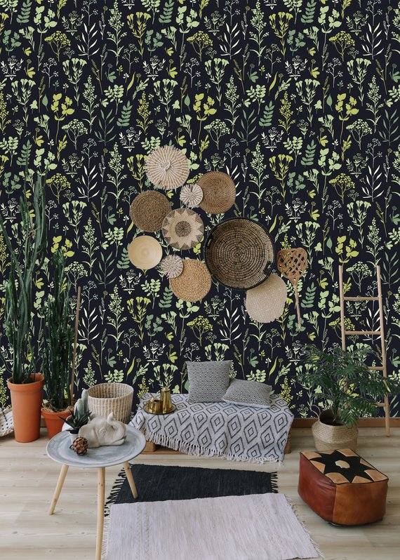 Etsy Anni Studio - Top 15: Favourite Spring Wall Coverings