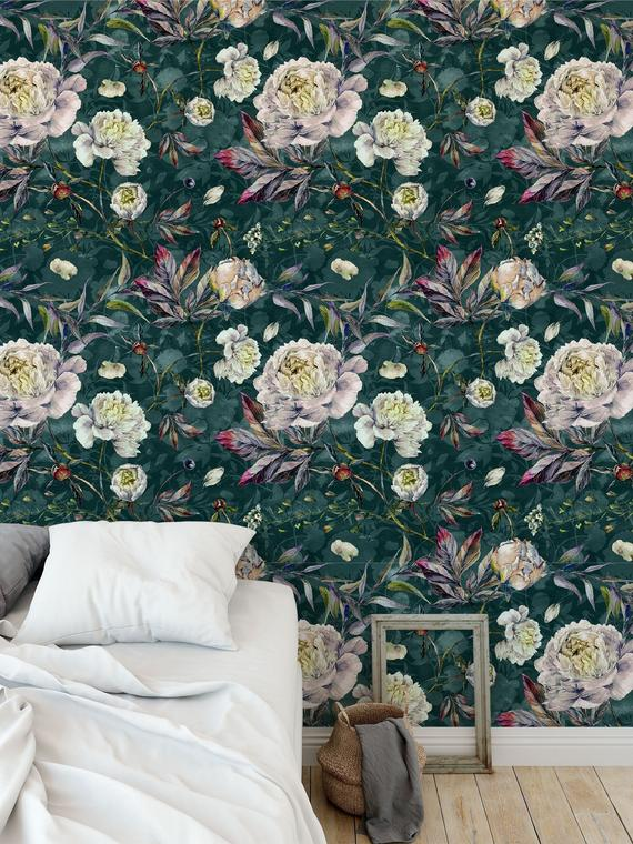 Etsy Bonnie Bold -Top 15: Favourite Spring Wall Coverings
