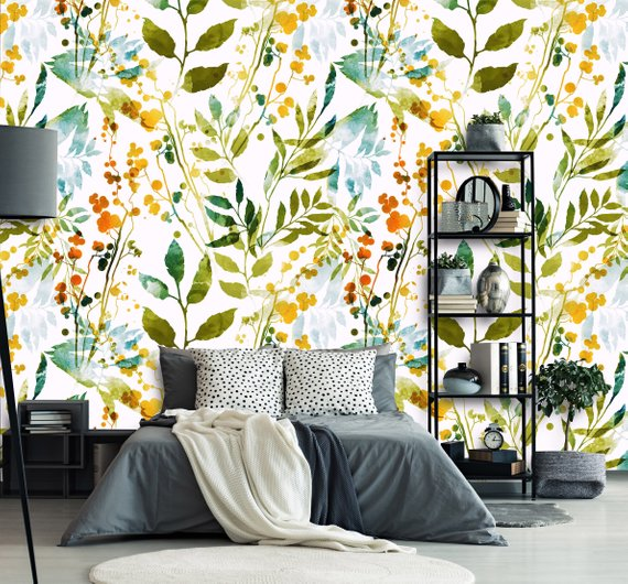 Etsy Coloritto -Top 15: Favourite Spring Wall Coverings