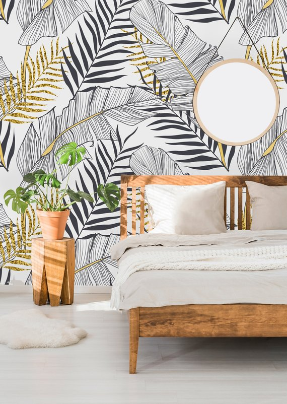 Etsy Uniq Watercolor -Top 15: Favourite Spring Wall Coverings