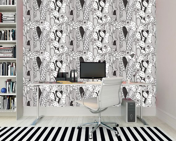 Etsy Wall St Wallpaper -Top 15: Favourite Spring Wall Coverings