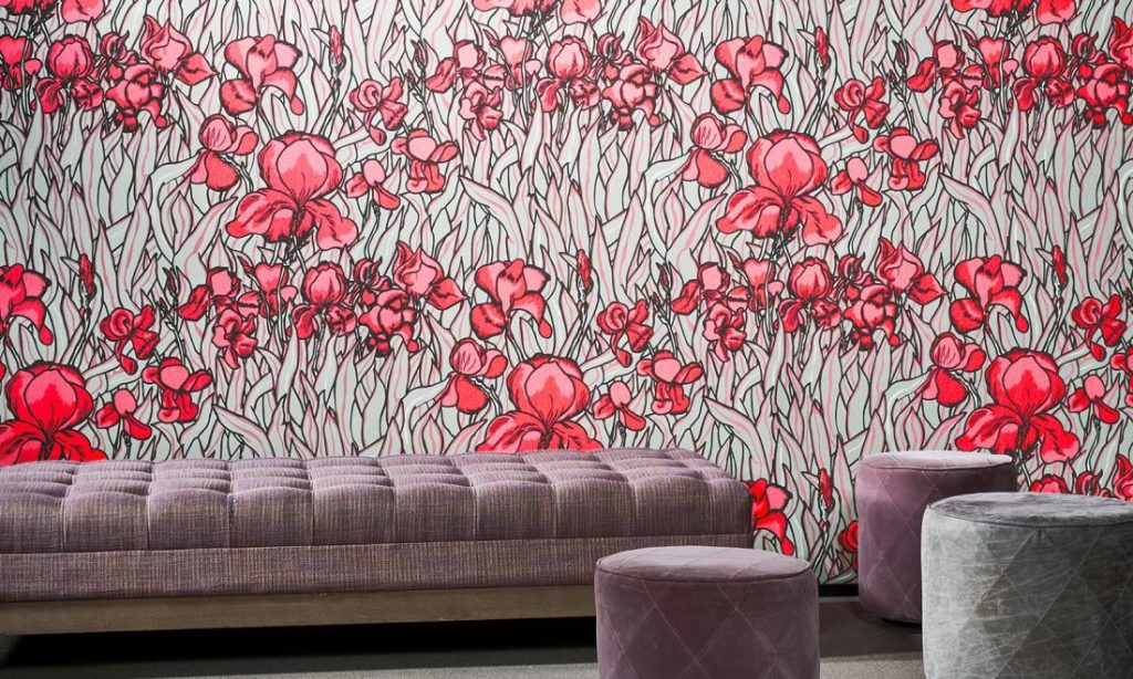 Arte Flavor Paper Iris -Top 15: Favourite Spring Wall Coverings