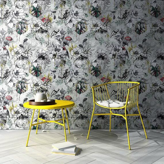 Etsy Muck N Brass -Top 15: Favourite Spring Wall Coverings