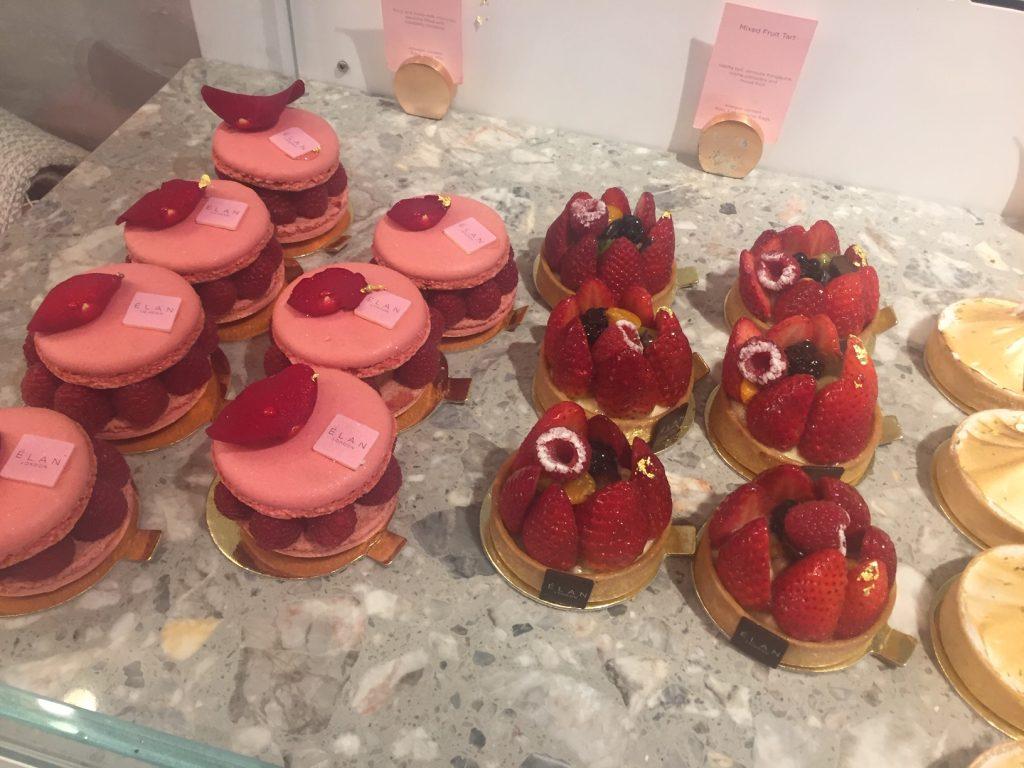 Flower Power at Elan Oxford Circus London - Desserts