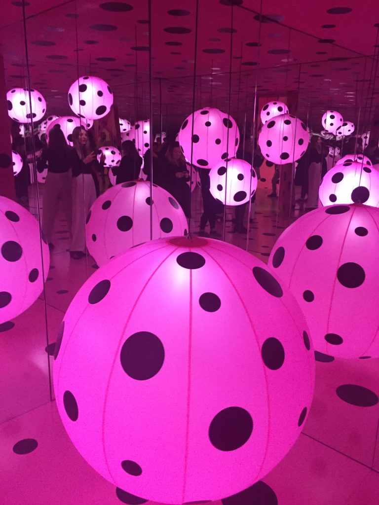 A Forever Infinity Room At the ROM - Loved Transformed Into Dots