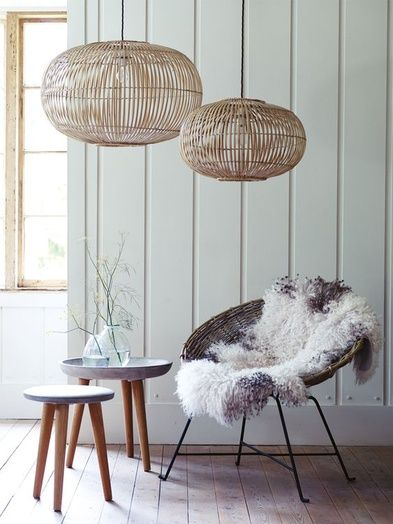 Open - Rattan Lighting For Spring