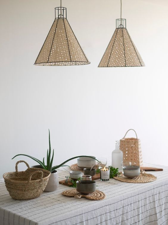 Structured - Rattan Lighting For Spring