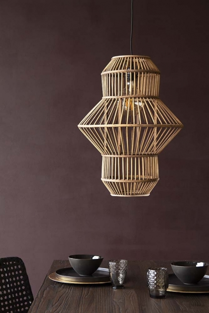Sculptural - Rattan Lighting For Spring