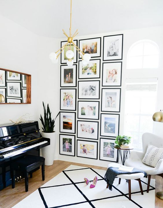 12 Ways To Display Your Gallery Wall - Structured