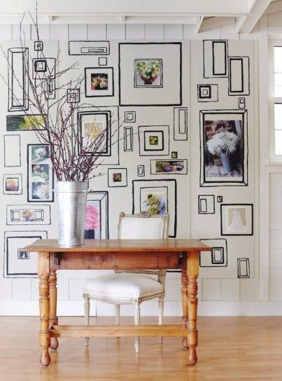 12 Ways To Display Your Gallery Wall - D.I.Y