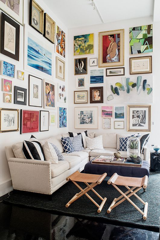 12 Ways To Display Your Gallery Wall - True Gallery