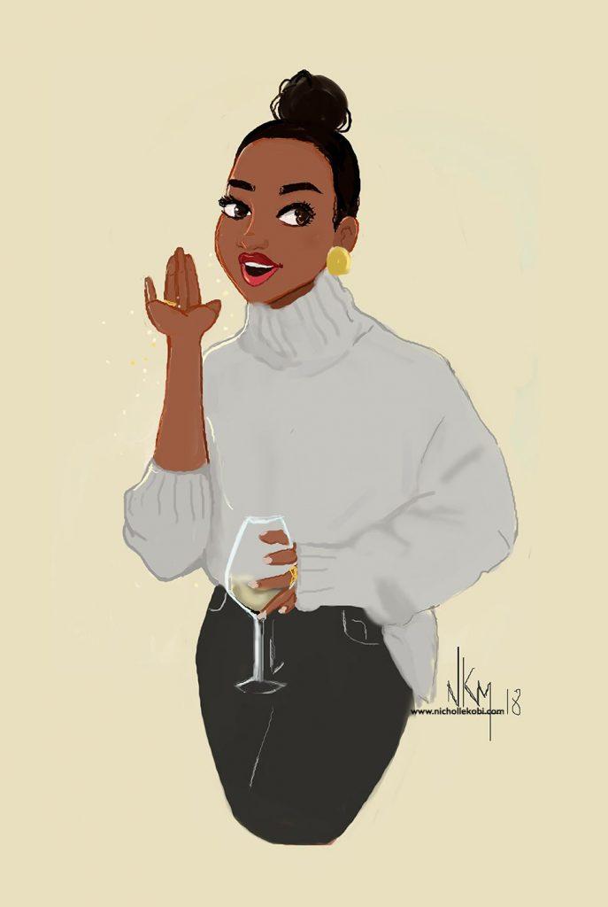 Nicholle Kobi illustration