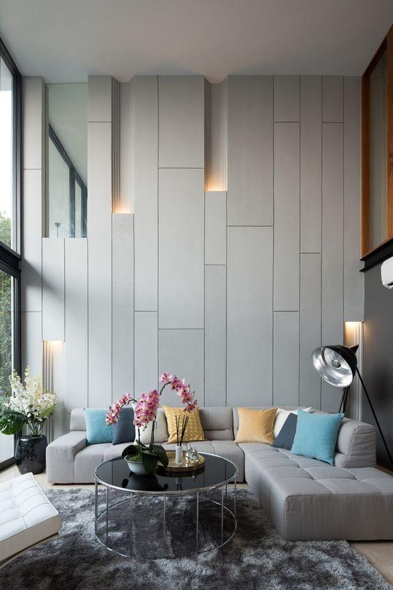 April Pinterest: Top 10 Pins - Modern Townhouse Living Room