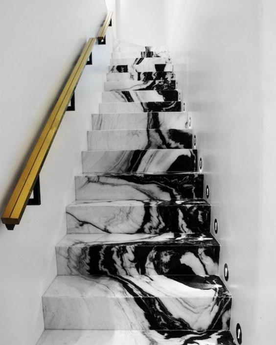 April Pinterest: Top 10 Pins - Marble Staircase