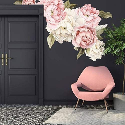 Peonies Wall Art Mural Decal