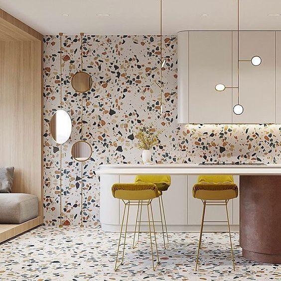 Colourful Modern Kitchen