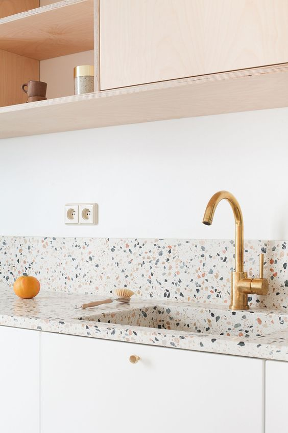 Terrazzo Still on Trend for 2019? - Colourful Kitchen Countertop
