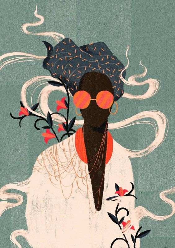 Willian Santiago Brazilian illustrator - Kalemba I