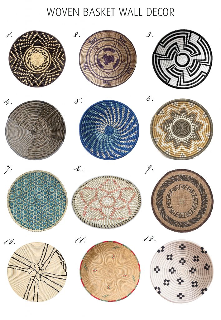Woven Basket Wall Decor Trend -