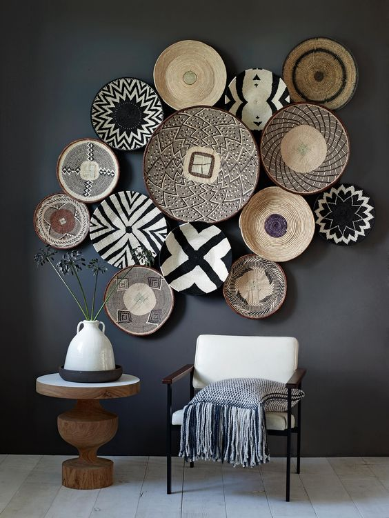 The Woven Basket Wall Decor Trend