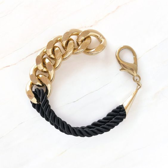 Fall Pinterest Favourite Pins - Accessories Jewellery Gold Bracelet