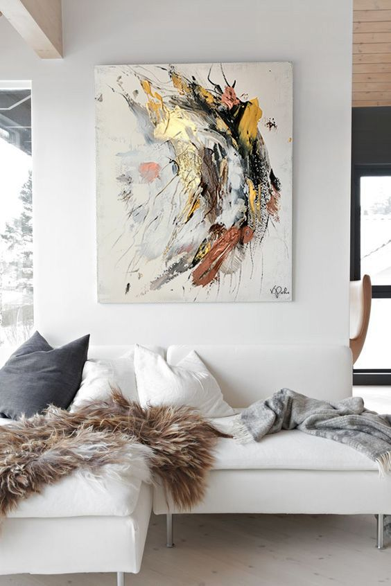 6 Must Investment Decor Pieces To Spend More On - Abstract Artwork
