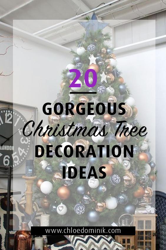 20 Gorgeous Christmas Tree Decoration Ideas