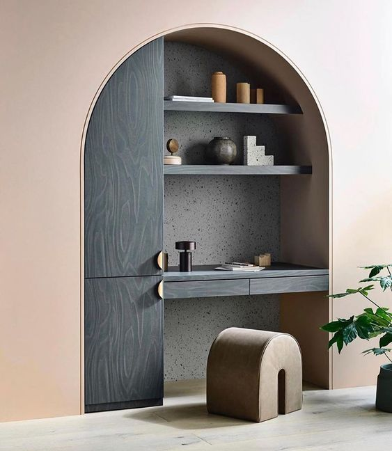 January Pinterest: Top 15 For Ideas and Inspiration - Stylish Office Desk nook