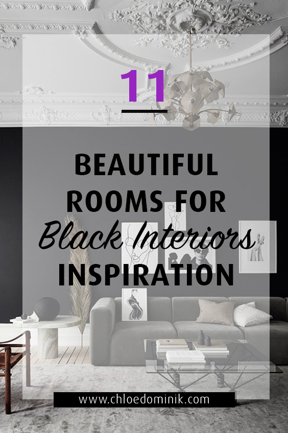 11 Beautiful Rooms For Black Interiors Inspiration