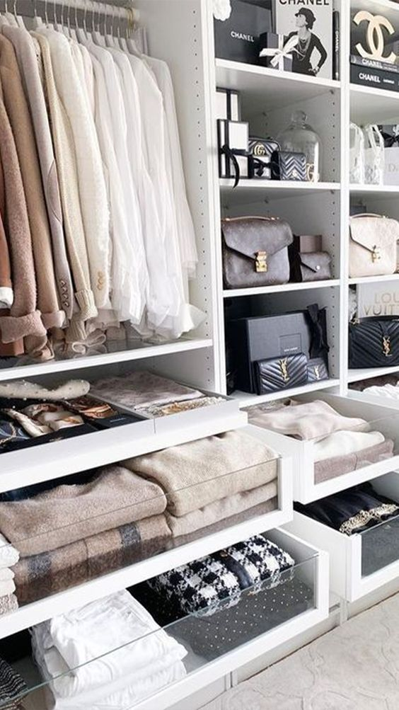 16 Stylish Wardrobe Ideas That Use The Ikea Pax - designer wardrobe