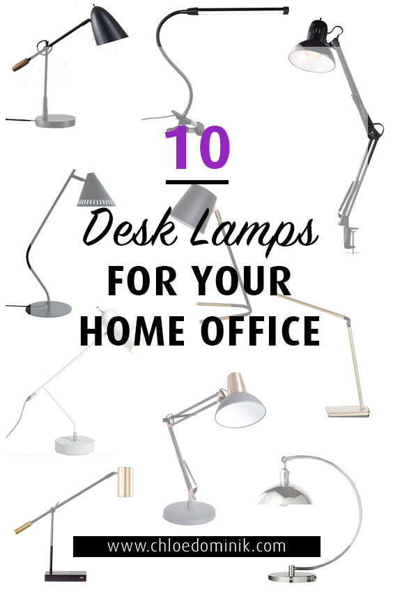 10 Desk Lamps For Your Home Office