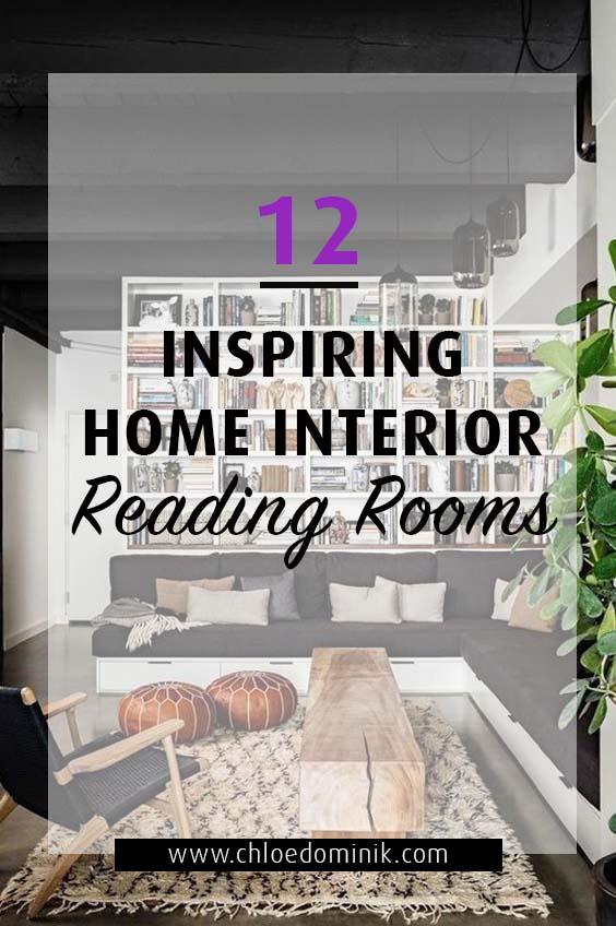 12 Inspiring Home Interior Reading Rooms - Interior Inspiration
