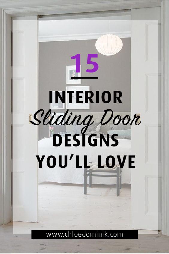 15 Interior Sliding Door Designs You'll Love