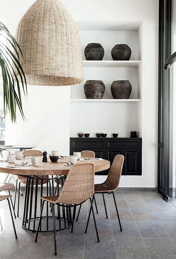 Anniversary Pinterest: Top 15 For Inspiration and Ideas - Neutral Dining Area