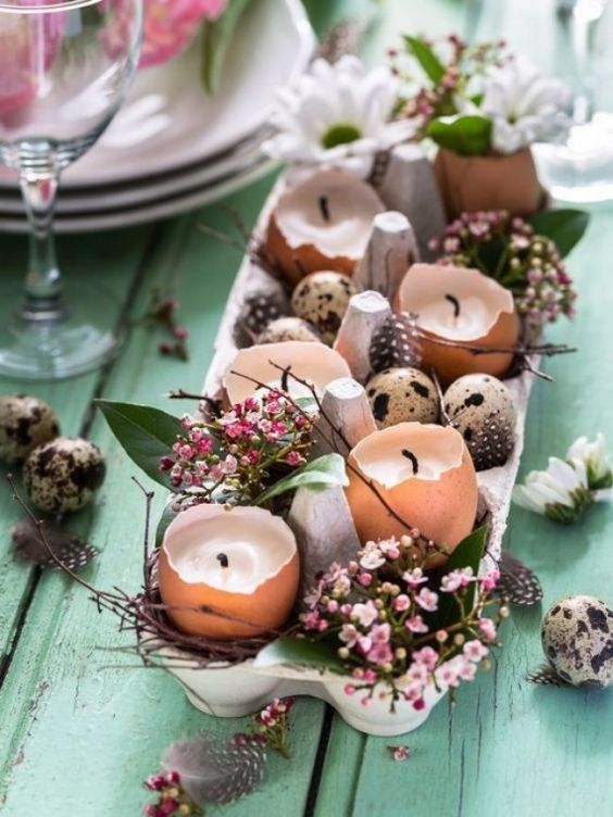 Anniversary Pinterest: Top 15 For Inspiration and Ideas - Easter table Display