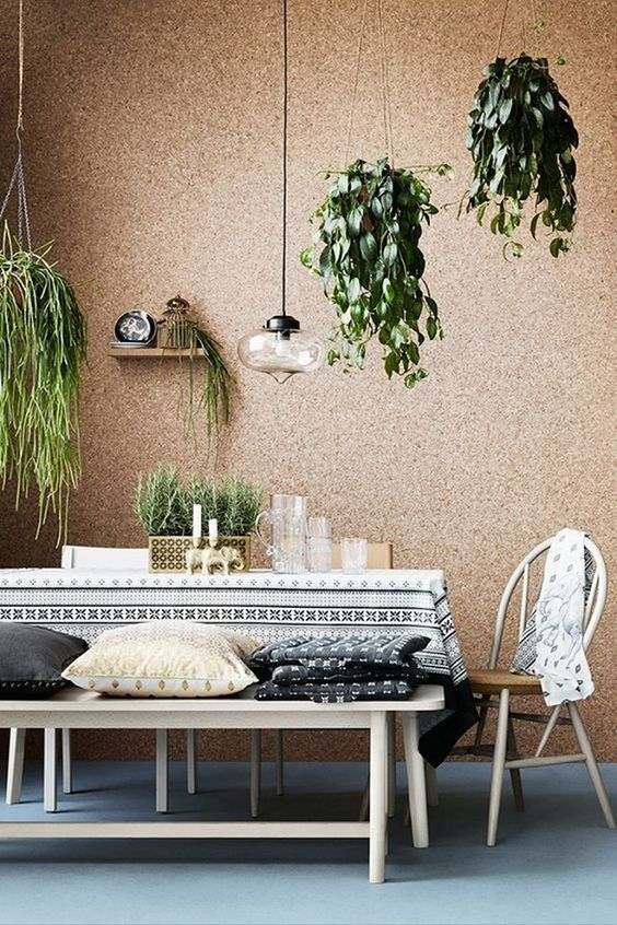 8 Things To Use For A Sustainable Friendly Home - Cork interior home