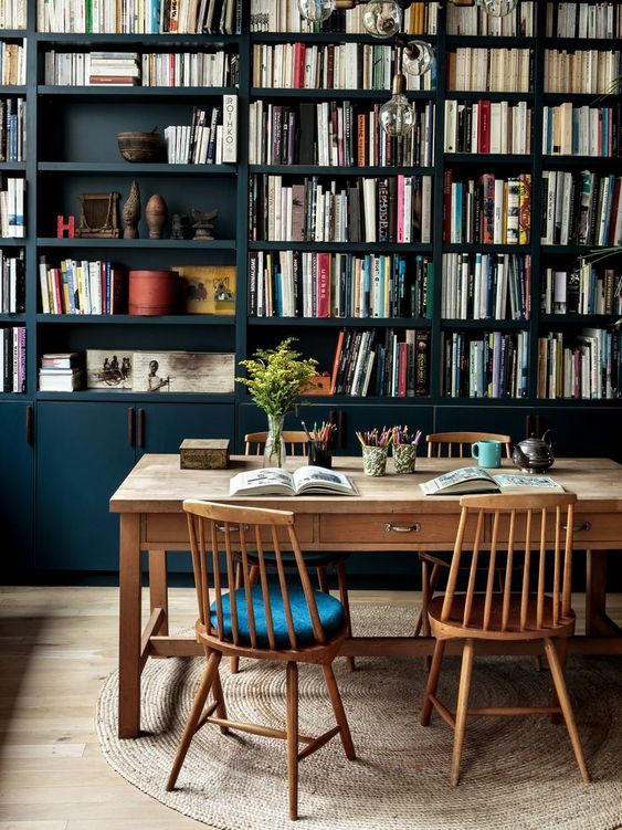 12 Inspiring Home Interior Reading Rooms - Study Area