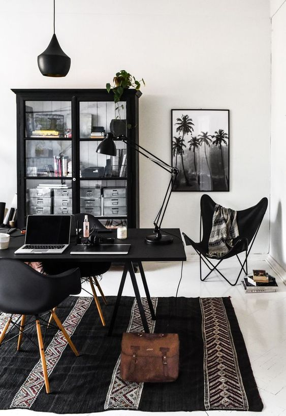 Modern Cozy Working Office