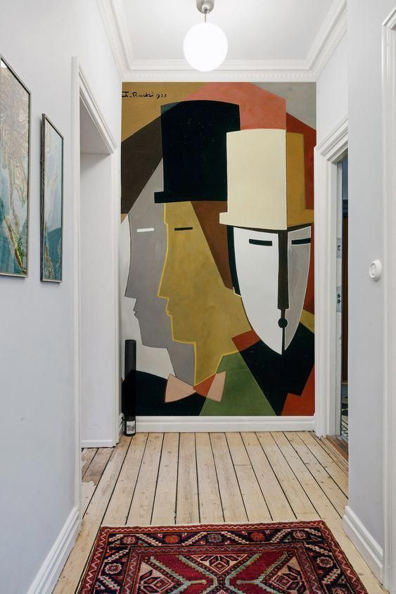 Anniversary Pinterest: Top 15 For Inspiration and Ideas - Mural Hallway Interior