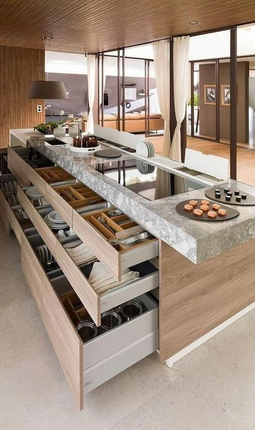 Anniversary Pinterest: Top 15 For Inspiration and Ideas - Kitchen Large Island