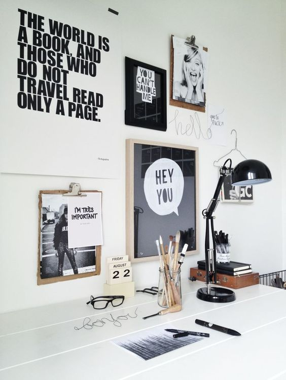 10 Tips To Create A Productive Home Office - Inspiration Artwork