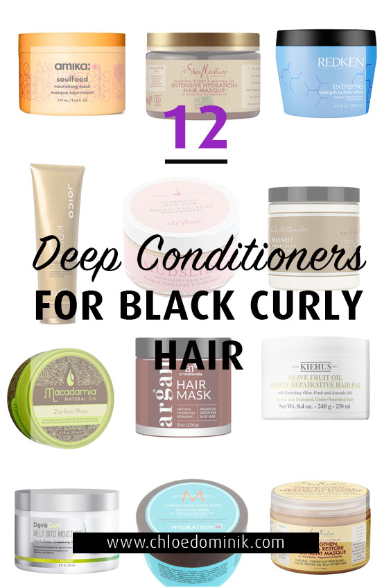12 Deep Conditioners For Black Curly Hair