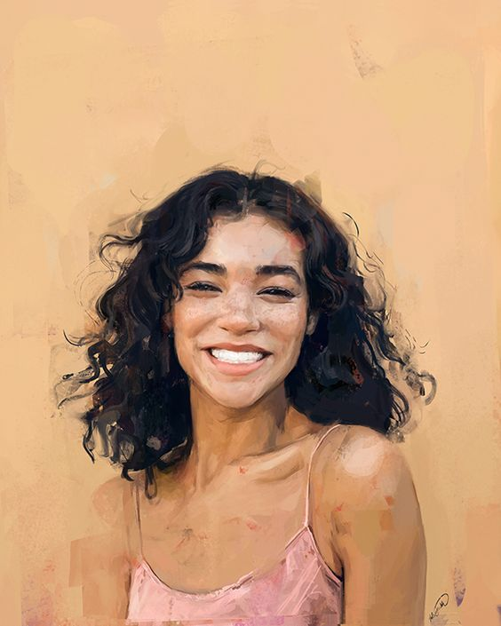 Alexis Franklin digital painting