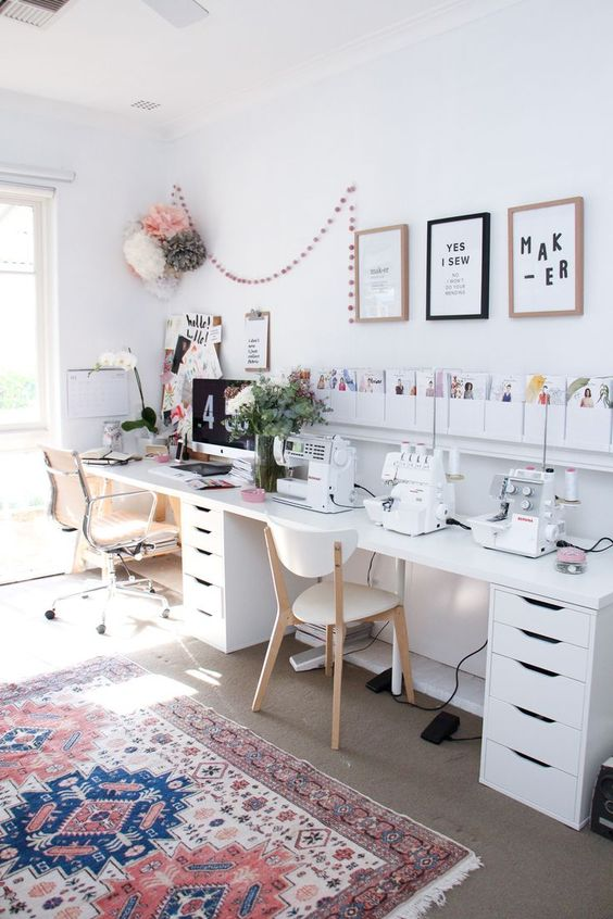 14 Inspiring Double Home Office Ideas - Extra Space