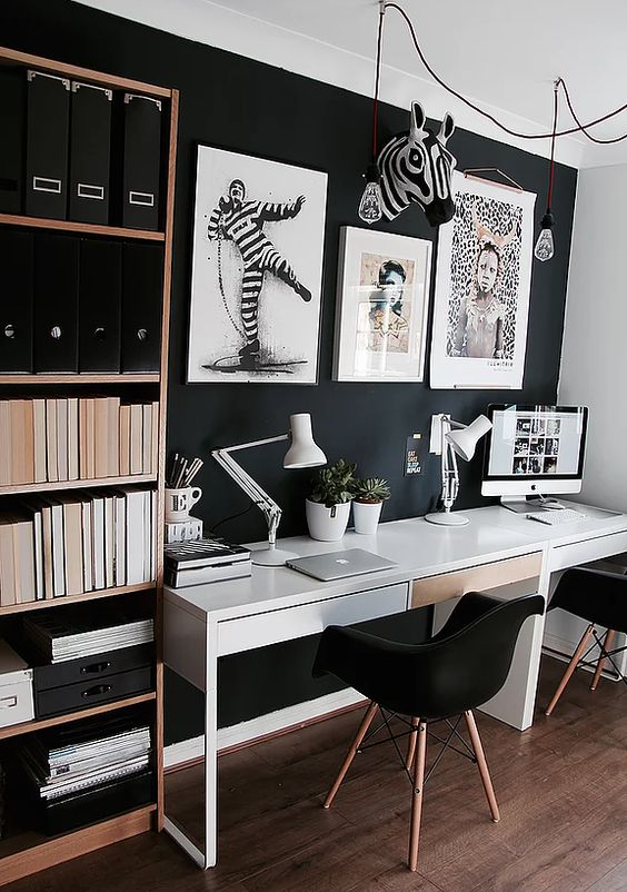 14 Inspiring Double Home Office Ideas