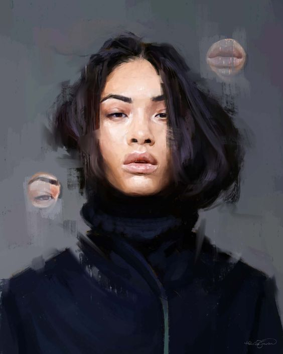 Alexis Franklin digital oil painting